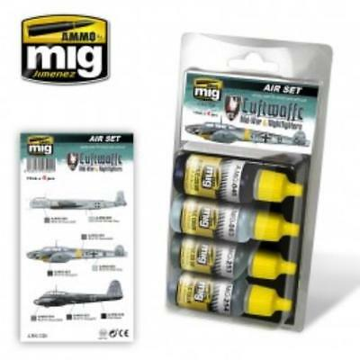AMMO by Mig Paint Sets Luftwaffe Mid-War Colors MINT