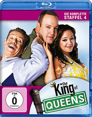 The King of Queens (Complete Season 4) NEW Blu-Ray 2-Disc Set K. James L. Remini