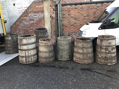 Rare Early-Mid 19th Century Salt Beef Barrels  Like HMS Victory Galley Storage