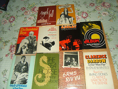 Samuel French  Dramatists Play Service  Lot Of 10  Comedy  Drama  Script  Plays