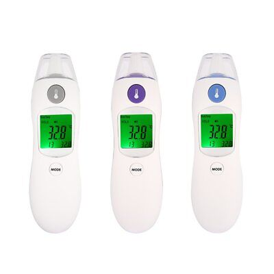 Digital IR Infrared Thermometer Non-Contact Baby Body Forehead Ear Temperature H