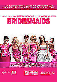 Bridesmaids Extended Edition(DVD, 2011) DISC & SLEEVE ONLY