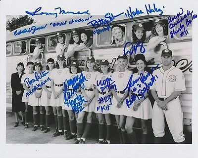 League of their Own Cast Signed 8x10 Photo Reprint