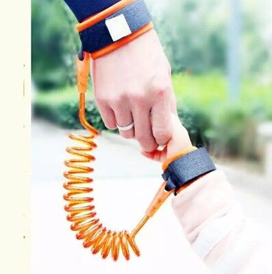 Toddler Baby Kids safety Harness Child Leash Anti Lost  Wrist Link Traction Rope