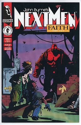 John Byrne's Next Men #21 - Mike Mignola - Hellboy First Appearance