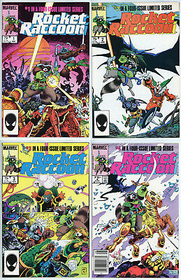 Rocket Raccoon 1,2,3,4 - Mike Mignola - Marvel - Guardians of the Galaxy -Comics