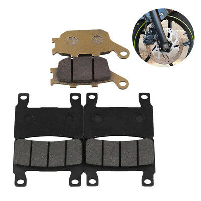 6PCS MOTORCYCLE FRONT and REAR BRAKE PADS FIT FOR CBR 600 F4/F4I Sport 1999-2004