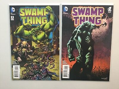 DC 2016 Swamp Thing 1-6 Complete Len Wein Kelley Jones Constantine Zatanna