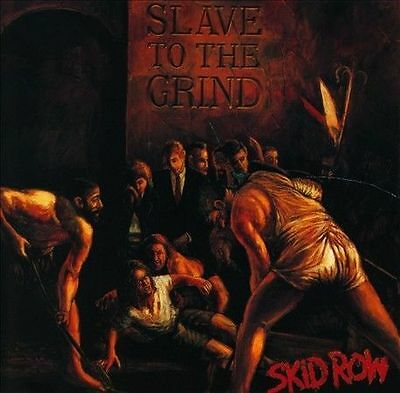 (Heavy Metal Cd) Skid Row - Slave To The Grind