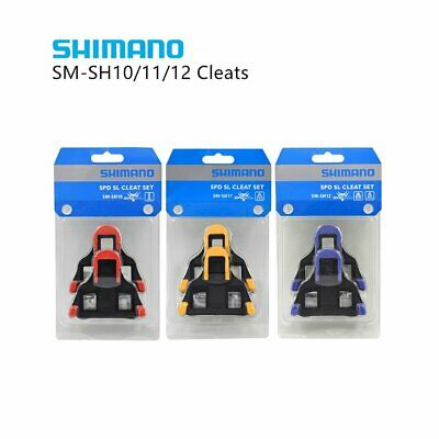 Shimano SM-SH10/11/12 Fixed Cleats Set 0/2/6° Float SPD-SL Bike Pedal Genuine