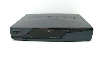 Cisco 877-SEC-K9 4-Port 10/100 Secure Wired Router Integrated Services ADSL