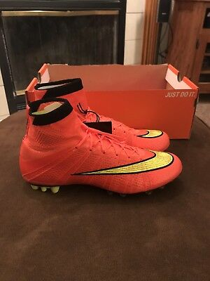 best service 2a3d1 83671 Nike Mercurial Superfly AG Mens Size 6 Hyper Punch Gold Black  300 Soccer  Cleats