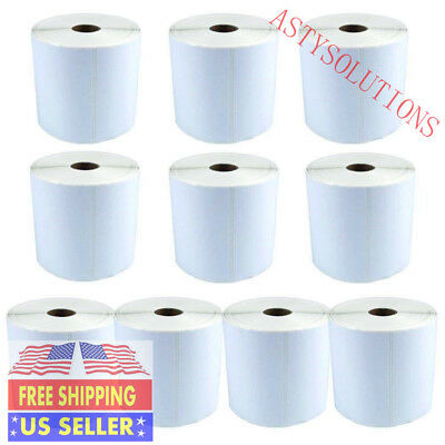 2 Roll 1000 labels 4X6 direct thermal shipping label for Zebra 2844 ZP450 Eltron
