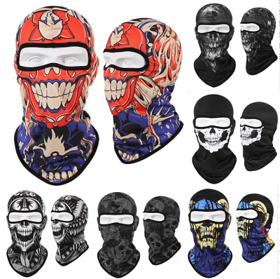 Motorcycle Full Face Mask Balaclava Ski Outdoor Thermal Windproof Cold Weather