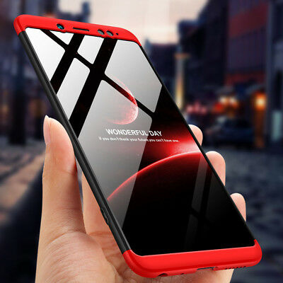 360° Full Protection Cover Shockproof Hard Case For Xiaomi Redmi 6A Note 5 6 Pro