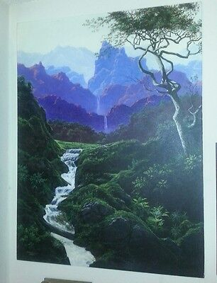 Frederick Deny's Signed Original Painting Listed Artist Maxfield Parrish Style
