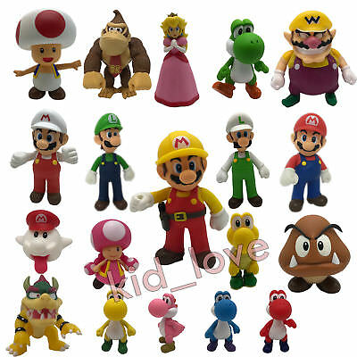 New Super Mario Bros. PVC Plastic Action Figure Doll Toy Collectible