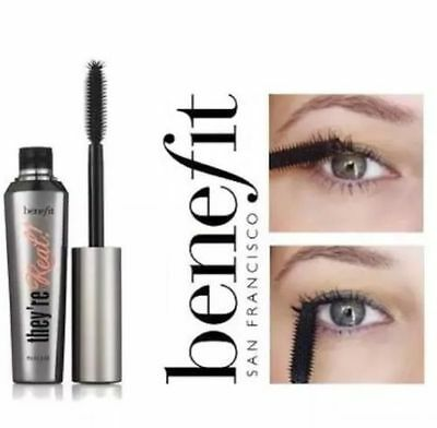 20ff356d8ad BENEFIT THEY'RE REAL Mascara 8,5gr. 3D Fasern WIMPERN x 3 Versand ...