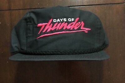 DAYS OF THUNDER SNAPBACK HAT 90s MOVIE MERCH HOP HOP SURF NASCAR TOM CRUISE