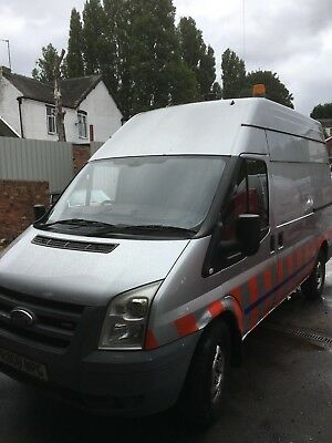 2008 FORD TRANSIT Utilities Van Compressor & Generator, Racking, No Vat