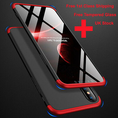 360° Full Cover Shockproof Hard Case For Xiaomi Redmi 6A Note 5 6 Pro A2 Lite
