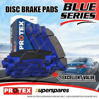 8 Front + Rear Protex Brake Pads For BMW 318 325 320 323 328 Ci 316ti 330i d E46