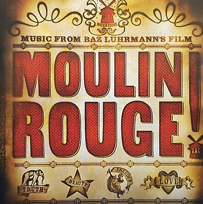 Moulin Rouge - Loop Oz Press Motion Picture Soundtrack Cd - 2001