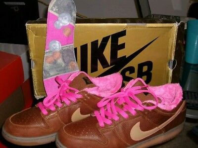 sports shoes ad69a 68db9 2007 Worn 1x Nike Dunk low SB Gibson Guitar Case Premium leather Rare  313170-271