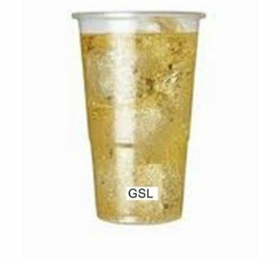 1000 x Recyclable Plastic Party Half Pint Glasses Tumblers. BBQ Party