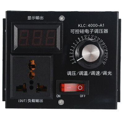 Control Voltage Controller Fan Speed Replaces Replacement Variable Dimmer Max