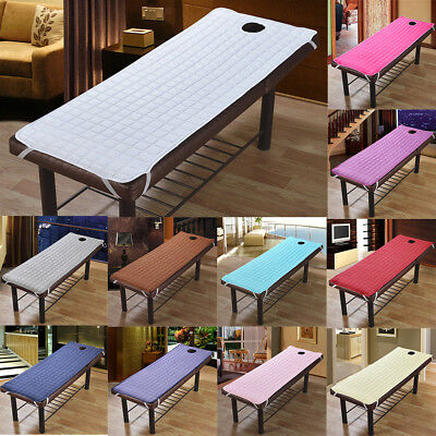 Massage Bed Table Cover Treatment Couch Mattresses With Face Breath Hole