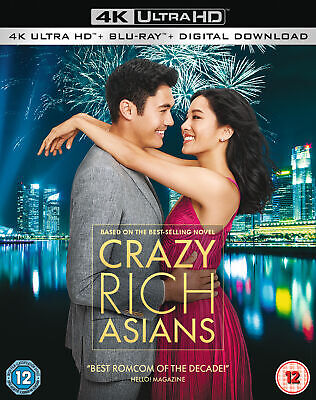 Crazy Rich Asians (4K Ultra HD) Constance Wu, Henry Golding, Gemma Chan, Lisa Lu