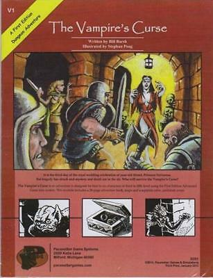 Pacesetter OSRIC RPG Vampire's Curse, The (3rd Printing) SC MINT