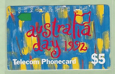 Australia - 1992 Australia Day $5 - AUS-M-047 - VFU (One Hole) - #150047