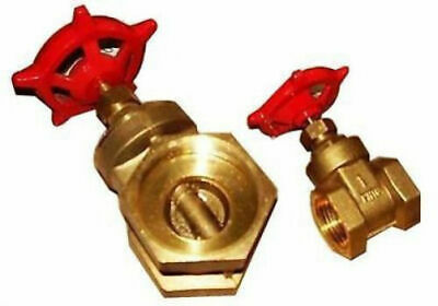 Brass Isolation Gate Valve Female Thread 1 and 2 Inch Available