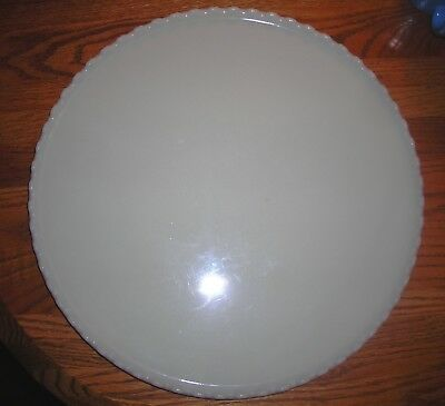"Antique or Vintage RITTER Milk Glass 14 1/4"" wide Dental Tray"