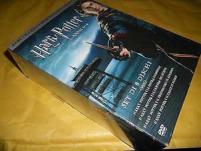 Dvd-Harry Potter-Special Edition Collection 8 Dvd-Anni 1-4-Sigillato-8 Dischi