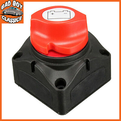 12v 24v Marine Car Battery Isolator Cut Off Switch On / Off Removable Key