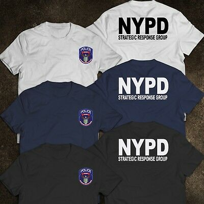 NEW YORK Police Department STRATEGIC RESPONSE GROUP United States T-Shirt