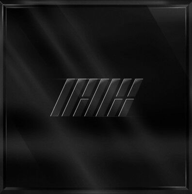 iKON NEW KIDS REPACKAGE [THE NEW KIDS] Album Black Ver. 2CD+P.Book+Card+Sticker