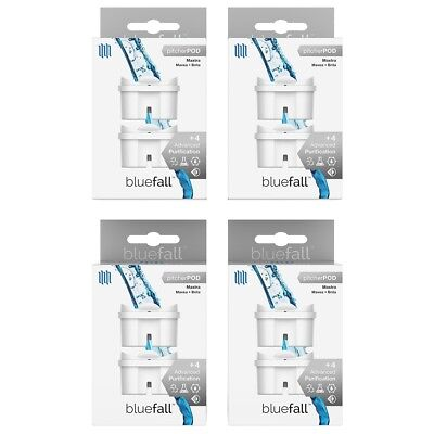 BEST Mavea Maxtra & Brita Compatible Replacement Water Pitcher Filter 4Pk