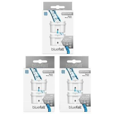 Mavea Maxtra & Brita Compatible Replacement Water Pitcher Filter 6-Pack