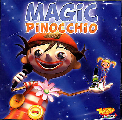 Magic Pinocchio - Toggo Music - CD - NEU + OVP