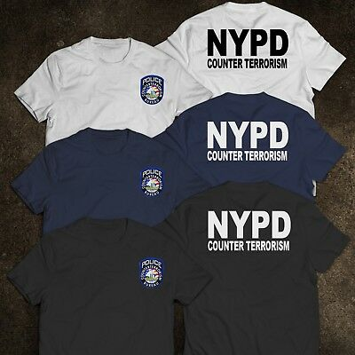 NEW YORK Police Department COUNTER TERRORISM United States T-Shirt