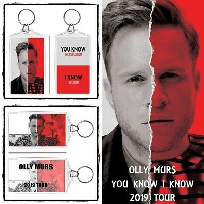Olly Murs ~ You Know I Know Album & Tour 2019 ~ Jumbo Keyring ~ Brand New Items