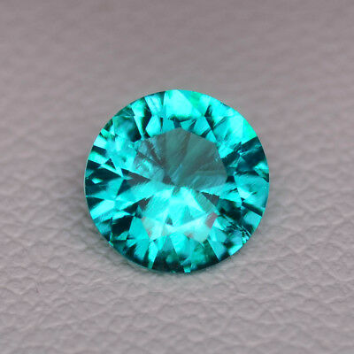 0.71ct Beryl Paraiba With Inclusions Lab Created Loose Stone