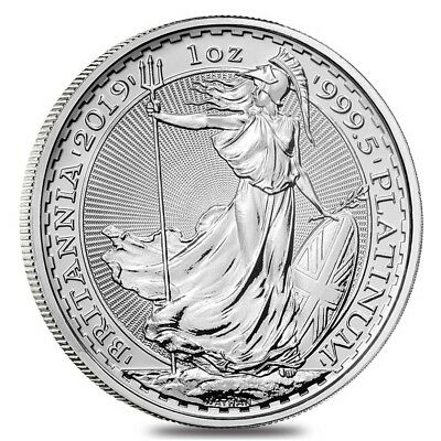 2019 Great Britain 1 oz Platinum Britannia Coin .9995 Fine BU