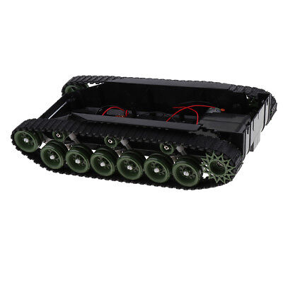 Shock Absorbed RC Smart Robot Tank Chassis Kit Track Crawler for Arduino DIY