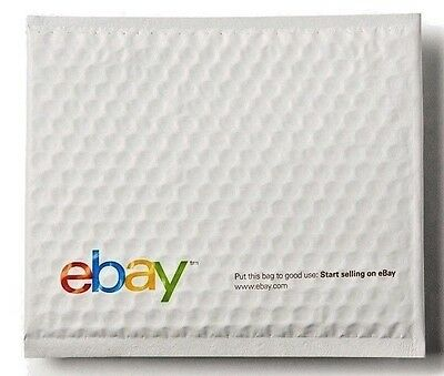 25 eBay Branded 8.5 x 10.75 Airjacket Padded Shipping Envelopes Bubble Mail FREE
