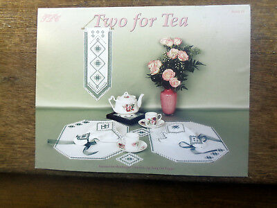 Two for Tea Decorative Hardanger Creations by Terry Lee Capps